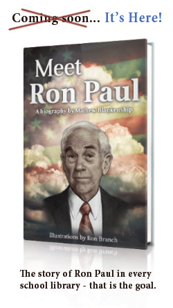New biography for youth about Ron Paul is now available